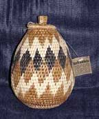 African Zulu Herb Basket (102VE4)