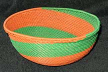 African Zulu Medium Telephone Wire  Bowl/Basket (MTB1)