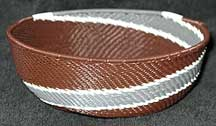 African Zulu Medium Telephone Wire  Bowl/Basket (MWB9)