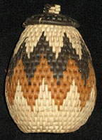 Handmade African Zulu Herb Basket - Beautiful Shape