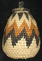 Handmade African Zulu Herb Basket - Traditional