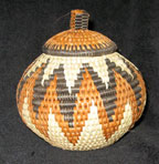 Handmade African Zulu Herb Basket - Wonderful Shape
