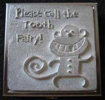 Keepsake Pewter Tooth Fairy Box - Monkey