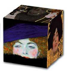 Gustav Klimt Paintings Art Cube