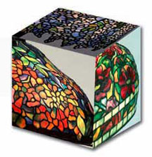 Louis Tiffany Stained Glass Lamps Museum Art Cube
