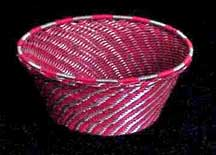African Zulu Small Telephone Wire  Bowl/Basket (SWB-4)